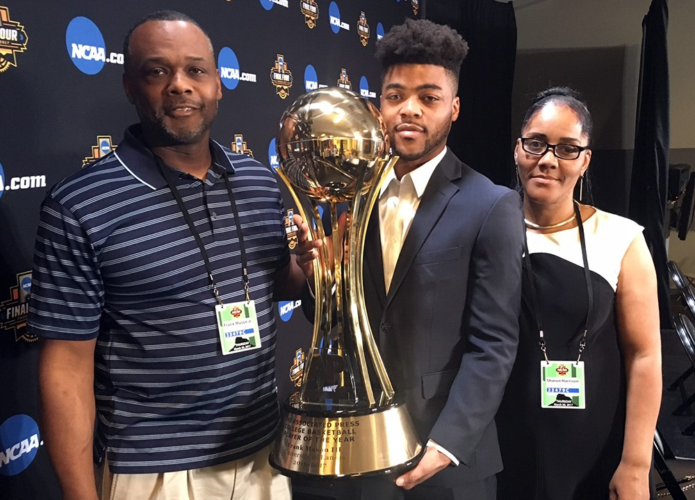 Frank Mason III and parents