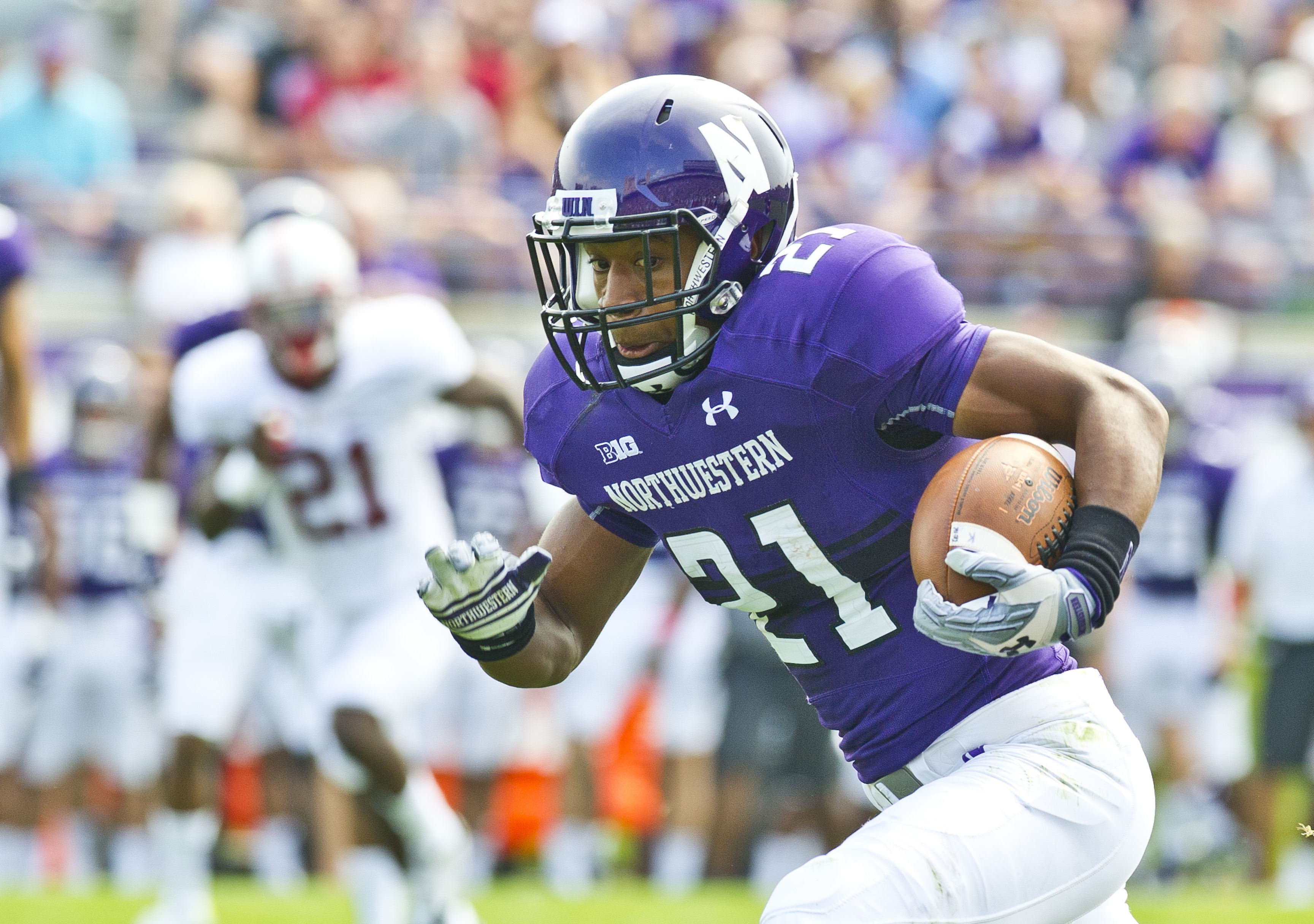 Image result for Justin Jackson RB Northwestern