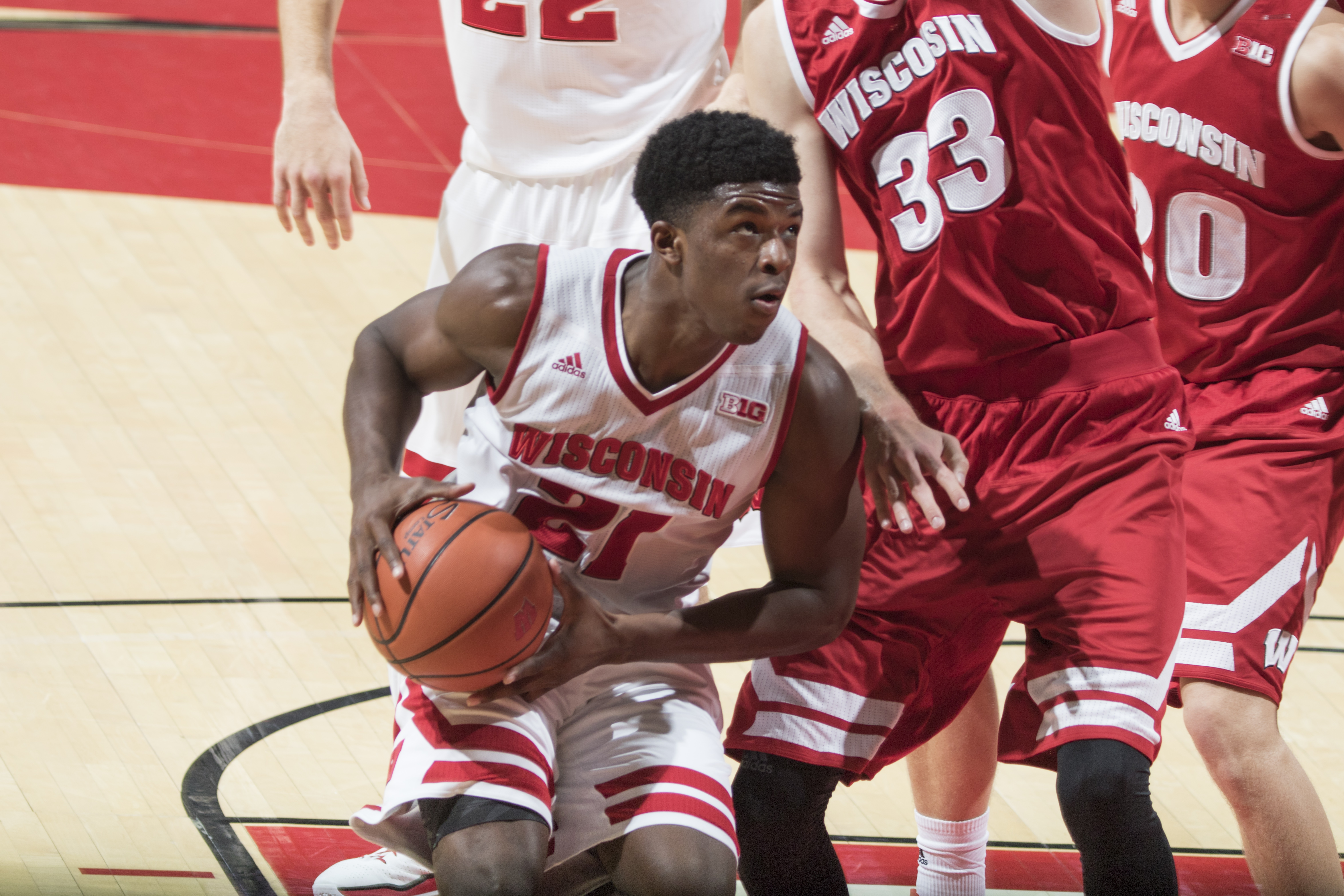 Men's Basketball - Wisconsin Athletics - Khalil Iverson ...